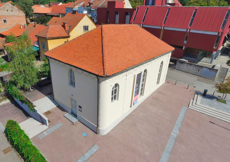 Sinagoga Lendava na Trgu Györgya Zale. Foto: ZIMN Lendava-MNTI Lendva